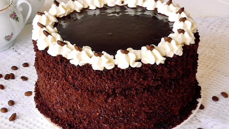 Кавовий торт для справжніх чоловіків