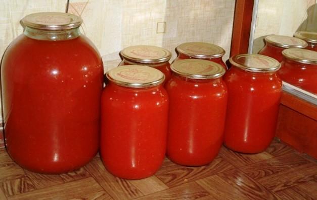Домашній рецепт смачного томатного соку без соковижималки