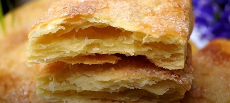 Листкове тісто без розкатування: все перемішую і тісто готове