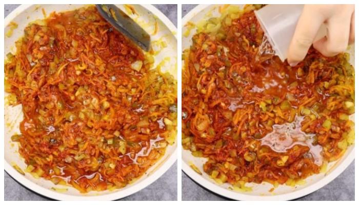 Пісний перловий суп з насиченим смаком