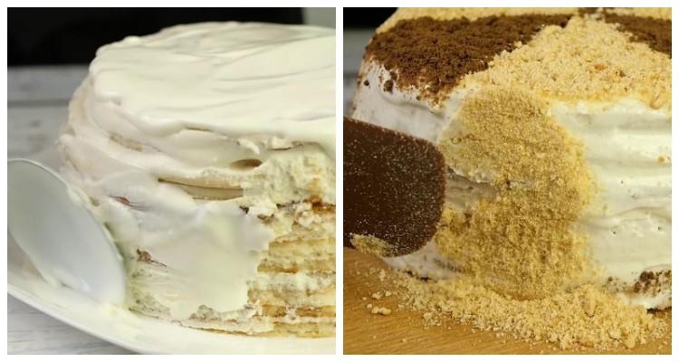 Торт без випічки з трьох інгредієнтів