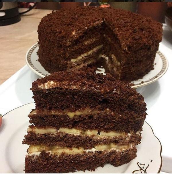 Торт «Чорний принц»