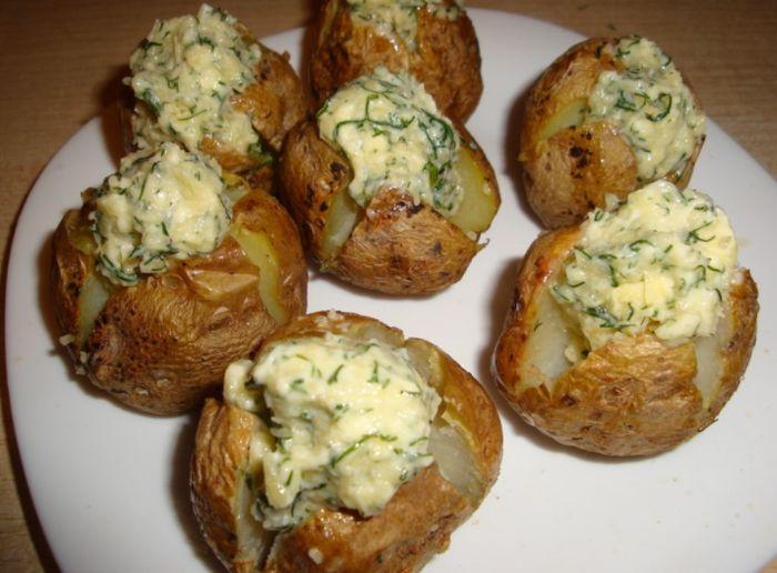 Святкова картопля на гарнір