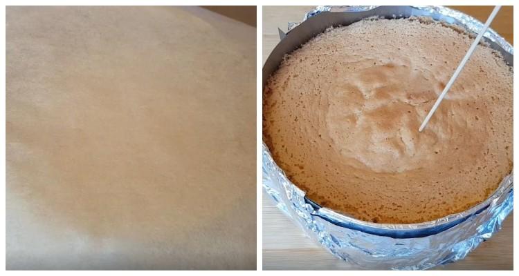 Повітряний бісквіт для торта. Простий і швидкий покроковий рецепт