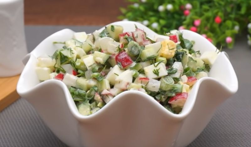 5 салатів до святкового Великоднього столу