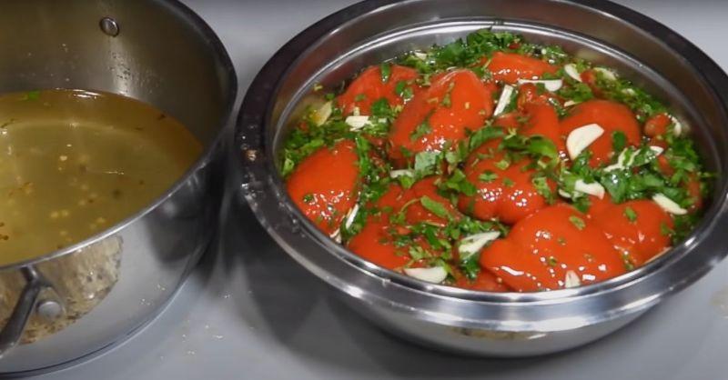 Болгарська закуска з перцю