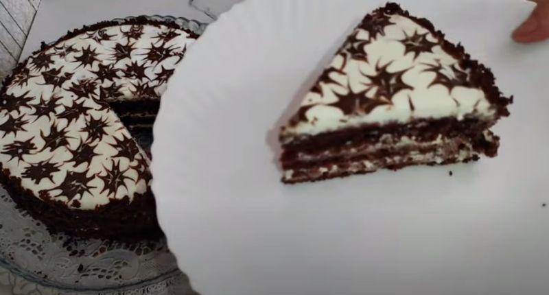 Торт три склянки - рідні вдячні за смачний і простий десерт