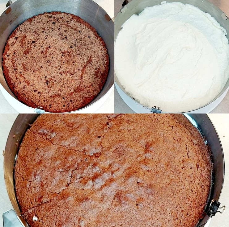 Рецепт шоколадного торта з незвичайним кремом-суфле. Справиться кожен!