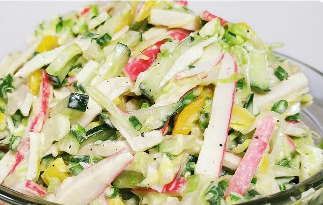Салат з капусти з смачною Заправкою