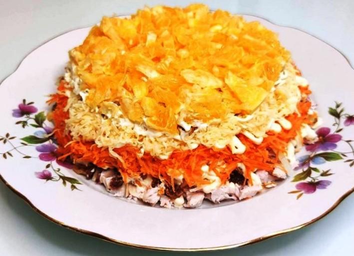 Улюблений салат моєї мами «Іспанська пристрасть». Ідеальне поєднання компонентів