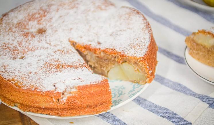 Довго шукала рецепт пирога на кефірі з грушами. І знайшла свій ідеальний